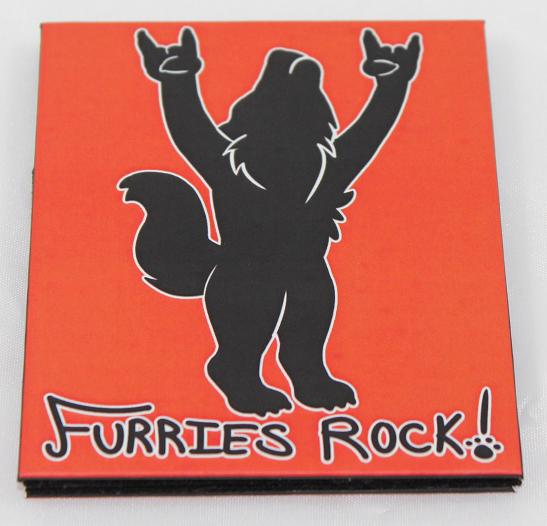 Furries Rock Magic Wallet