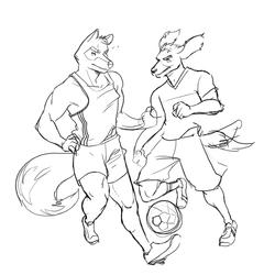 Sketch stuff - Soccer Wes