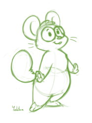 Nishi the Hamster