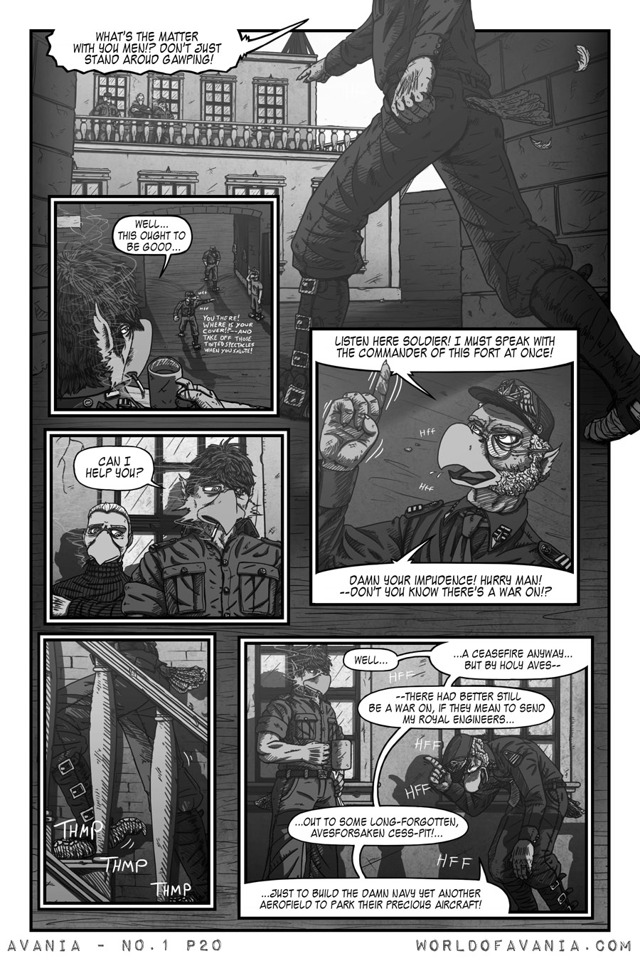 Avania Comic - Issue No.1, Page 20