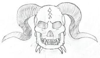 Abyss Arts - Demonic Skull Symbol