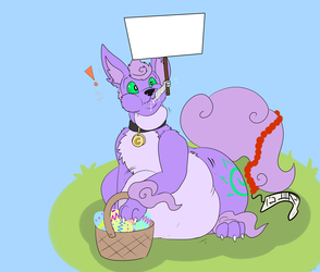 Easter Noms Make Happy Doggies! - by Annika