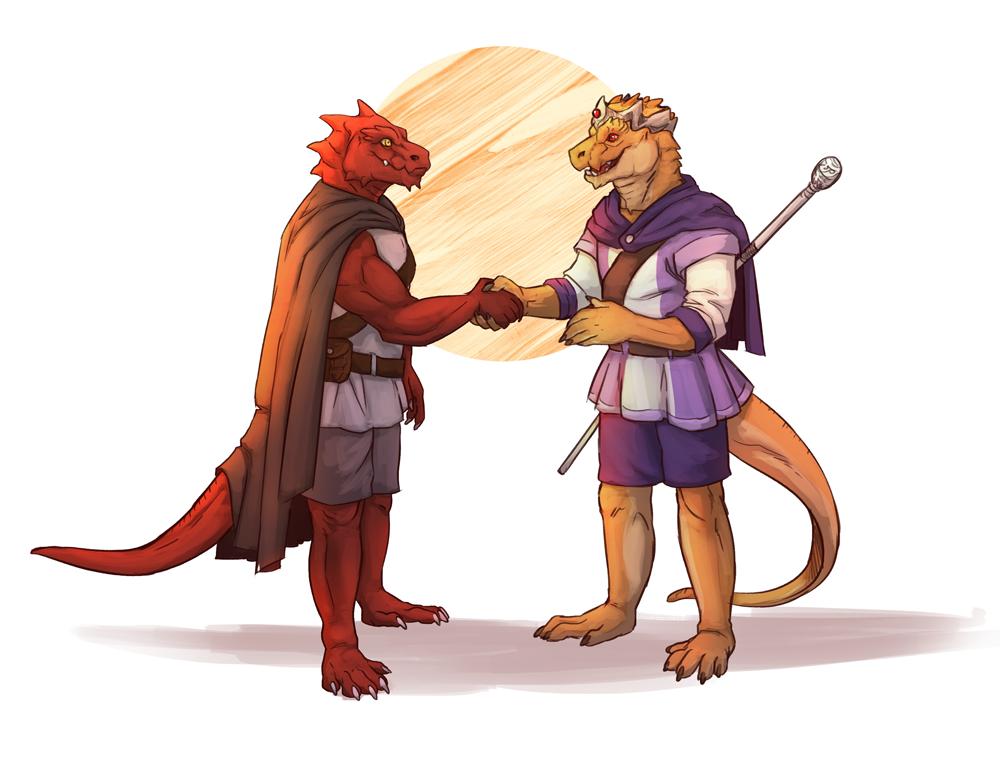 Meeting an old friend