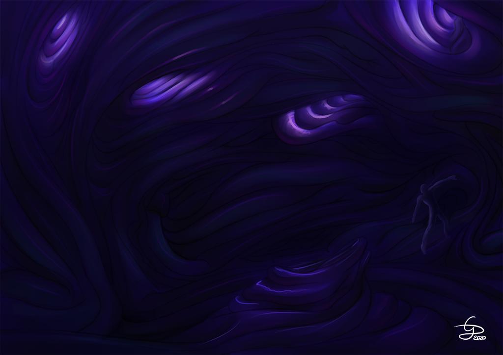 Concept Art - Subterrarak burrow