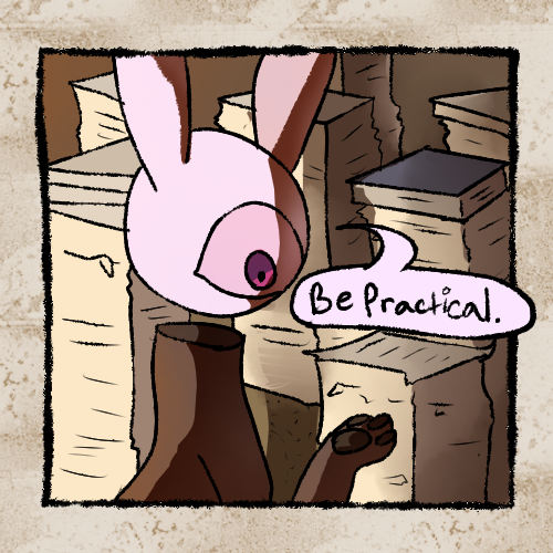 Most recent image: Be practical