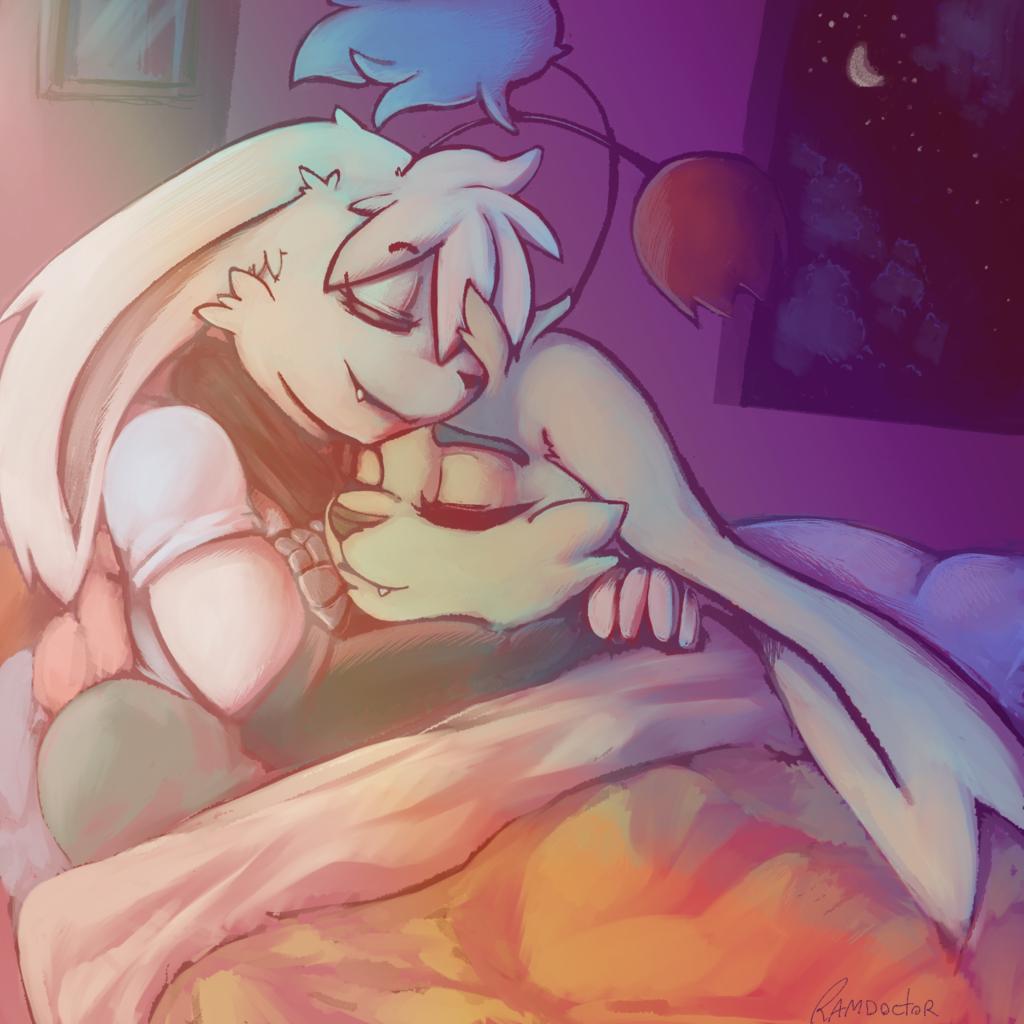 cuddles at home