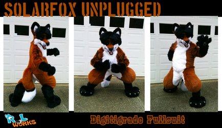 SolarFox full suit commission