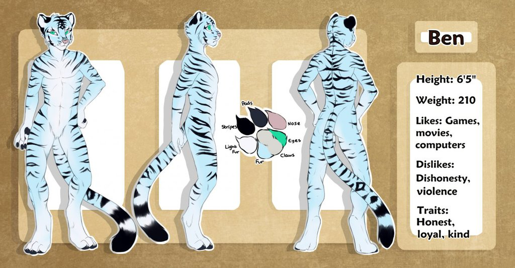 Bentiger Reference Sheet