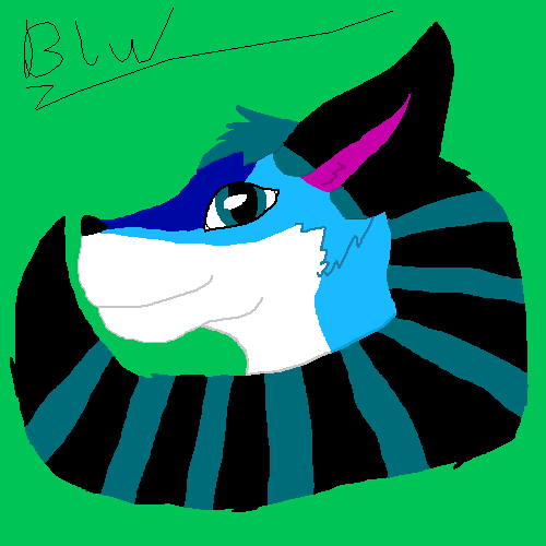 Most recent image: Blu #2