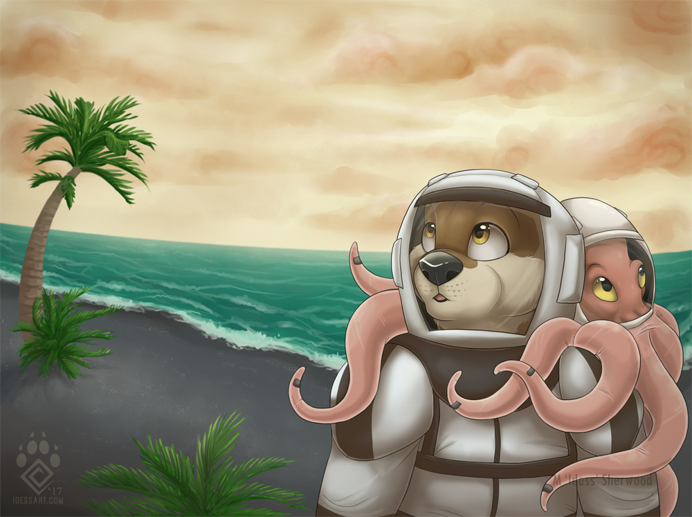 Otters In Space 3: Octopus Ascending