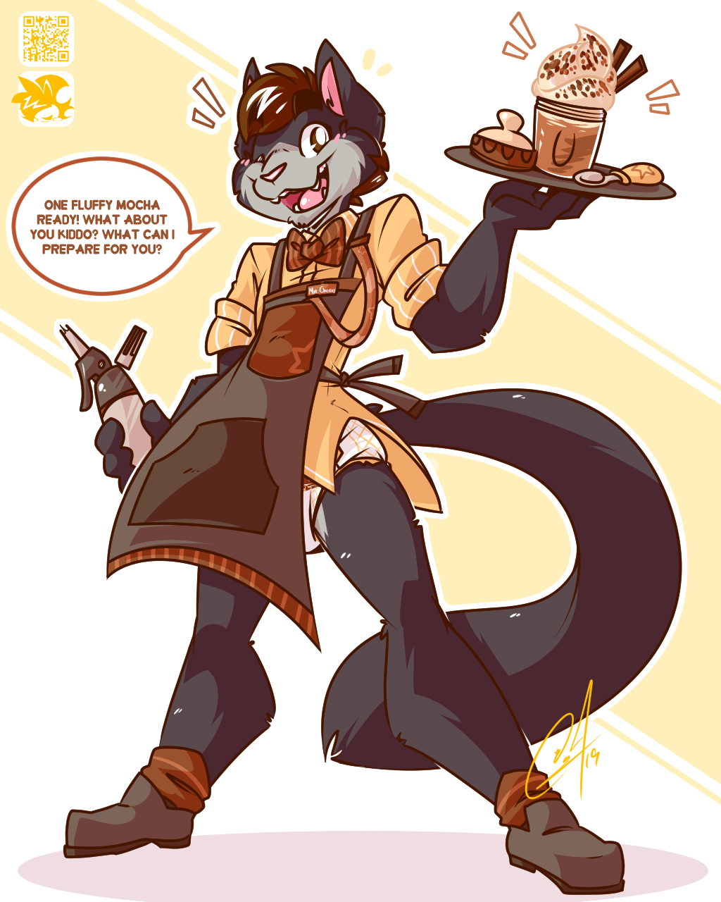 [⚡] - BARISTA AT YOUR SERVICE