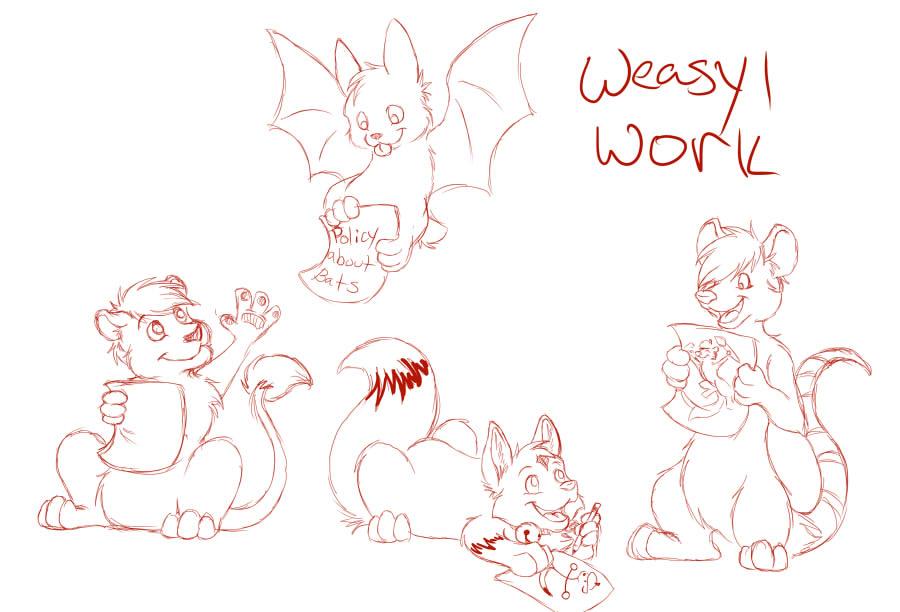Weasyl Work