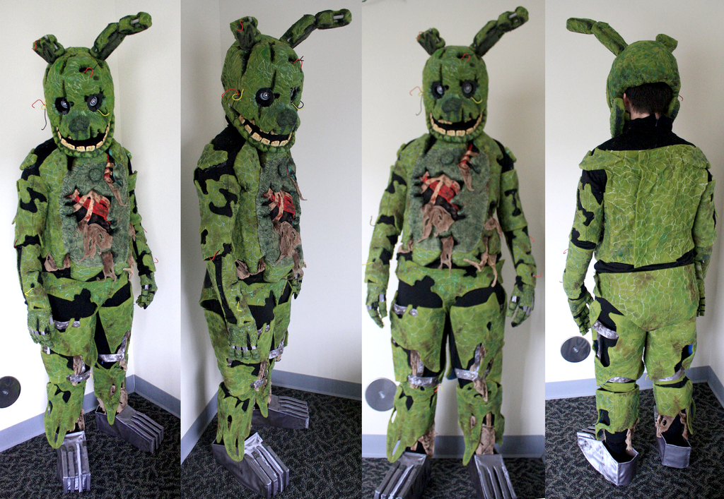Springtrap Fullsuit Auction - SIGNED BY MARKIPLIER