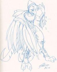 Random bird TF by Shiro