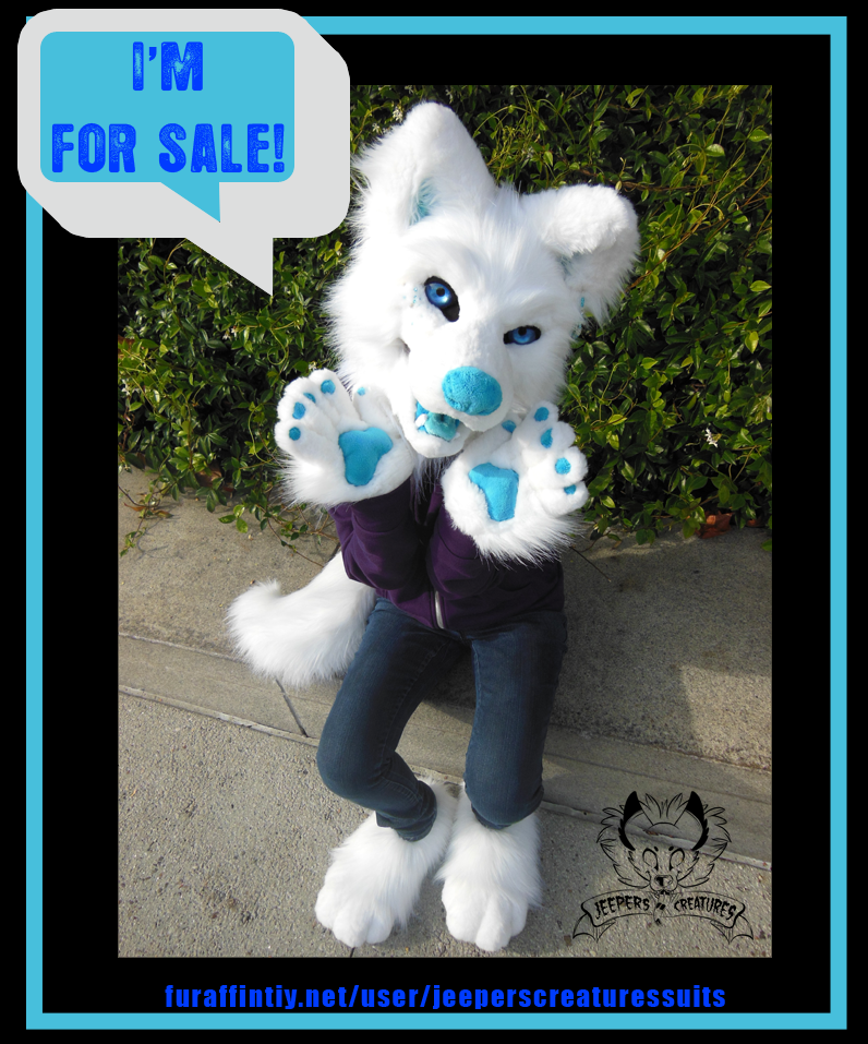 White Wolf Canine Partial! SOLD!