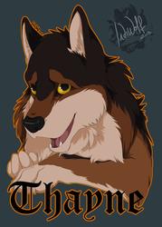 Thayne - Badge