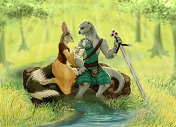 Mending A Warrior