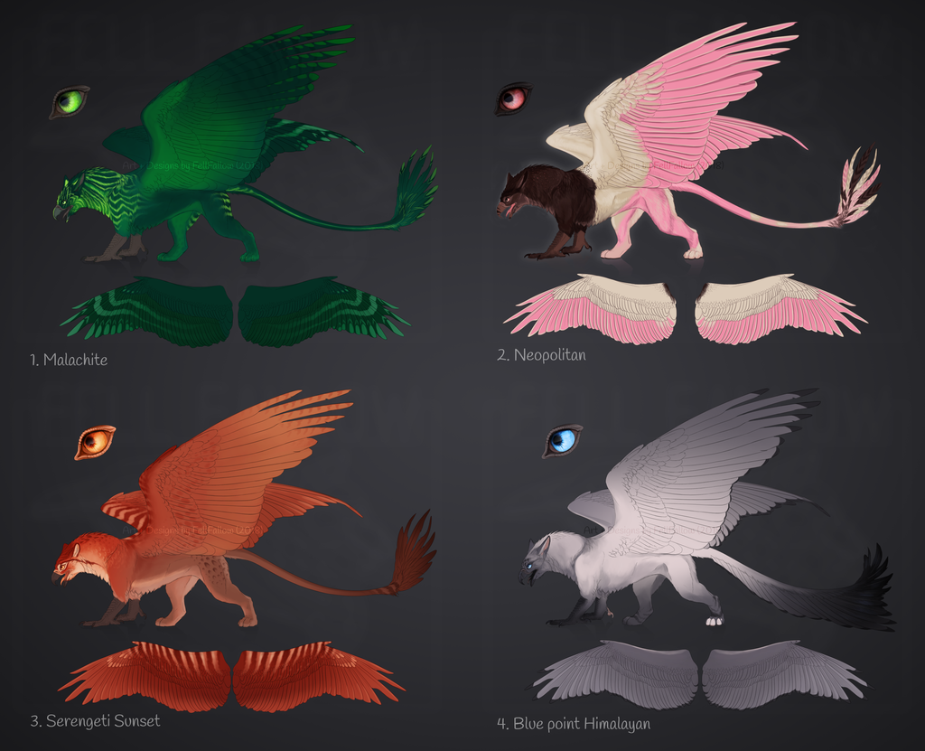 [ OPEN ] Gryphon Adopts (Batch #1)