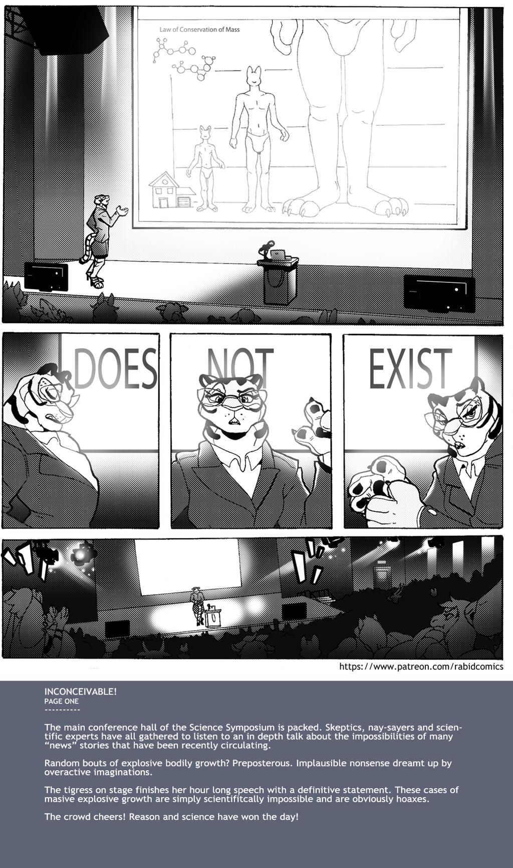 INCONCEIVABLE! -=Patreon Comic=- 1/7
