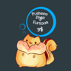 + Pusheen Style Fursona +