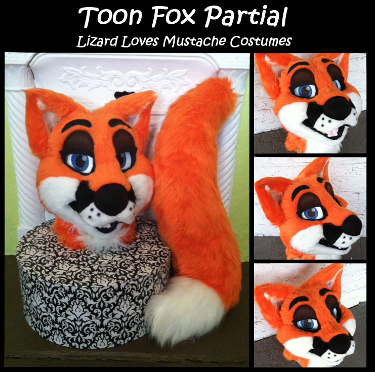 Toon Red Fox- Partial