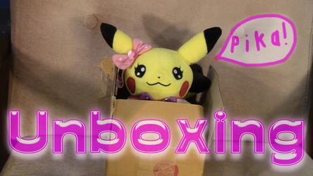 Unboxing Video: Pokémon Center Popstar/Idol Cosplay Pikachu Plush