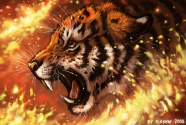 Fire of revenge