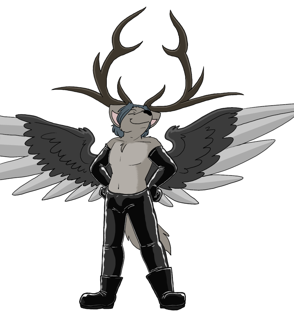 Jakob with Antlers