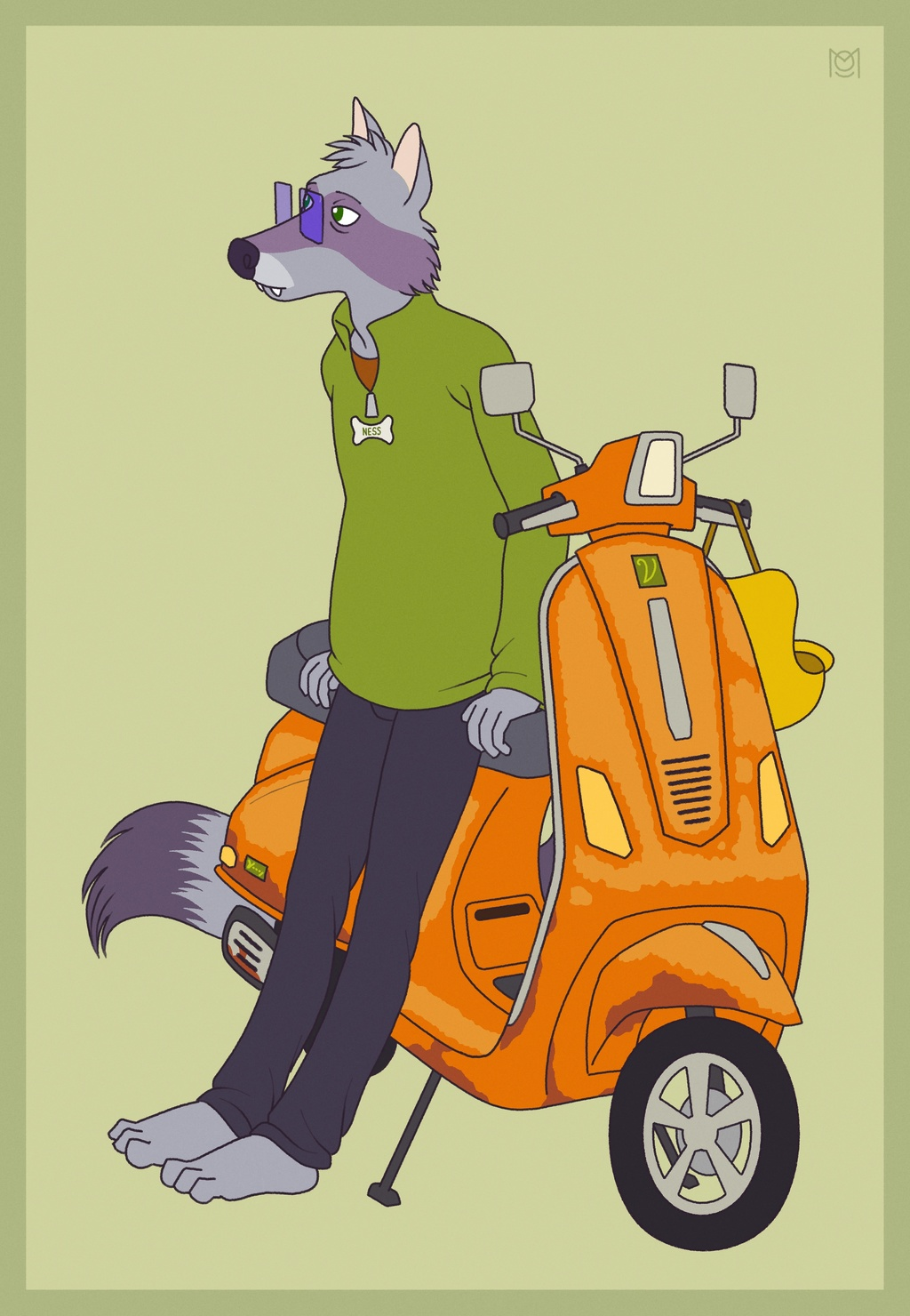 [Commission] Urban rides