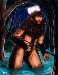 [LS]-Swamp Werewolf-Finished