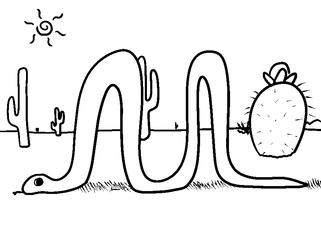 Doodle Day #43: Snake