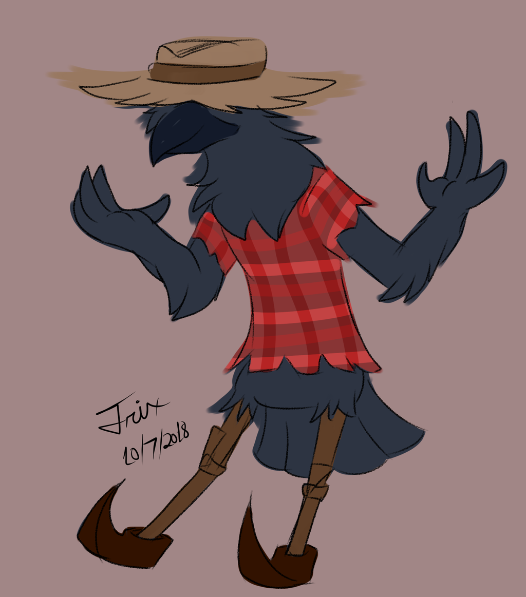 Spoopy Challenge Day 7: ScareCrow