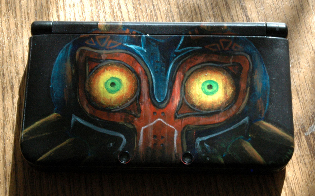 Customization - Majora's Mask 3DS XL