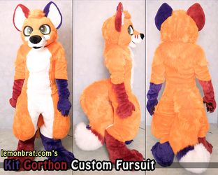 Kit Gorthon Custom Fursuit