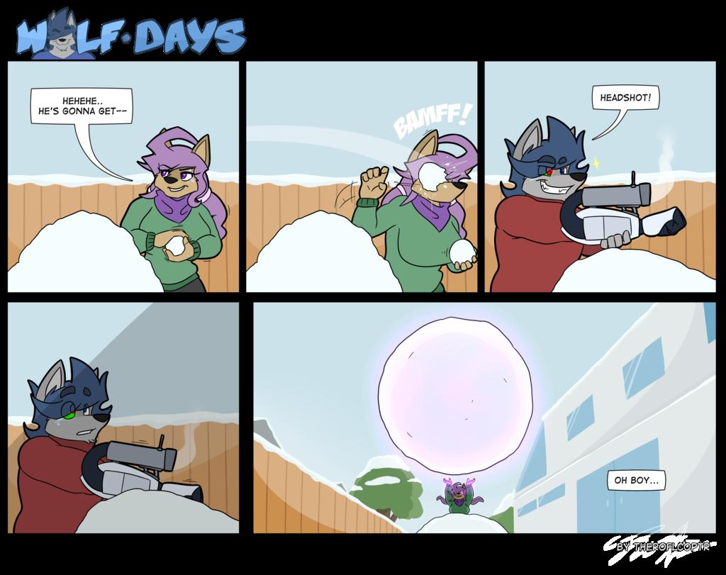 WolfDays - Snowball Fight