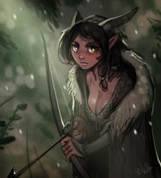 Darker Depths Comic First Character!