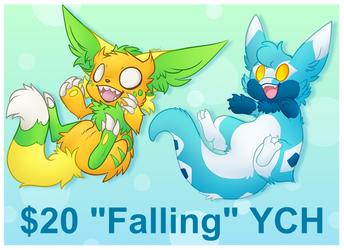 """$20 """"Falling"""" YCH"""