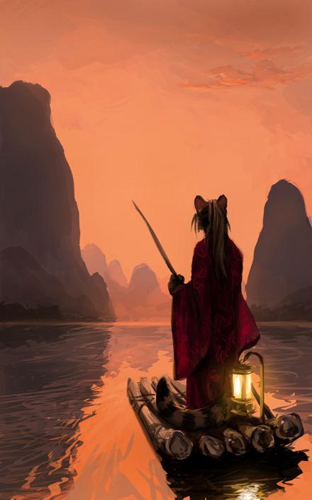 Wanderlust of Li River (by kenket)