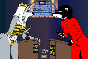 Femmely Feud (Color by MMM)