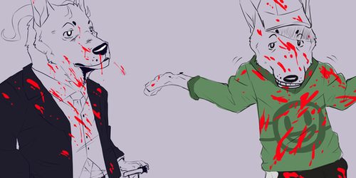 Red Handed WIP