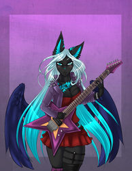 Rockin SonicStar with wing exsteanded