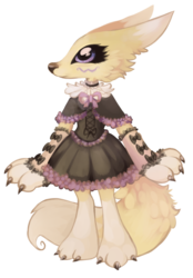Gothic lolita Renamon