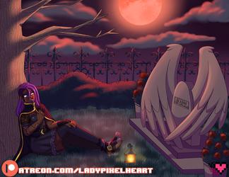 Nix's graveyard visit [COMM]