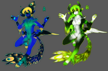Double character Auction @ FA