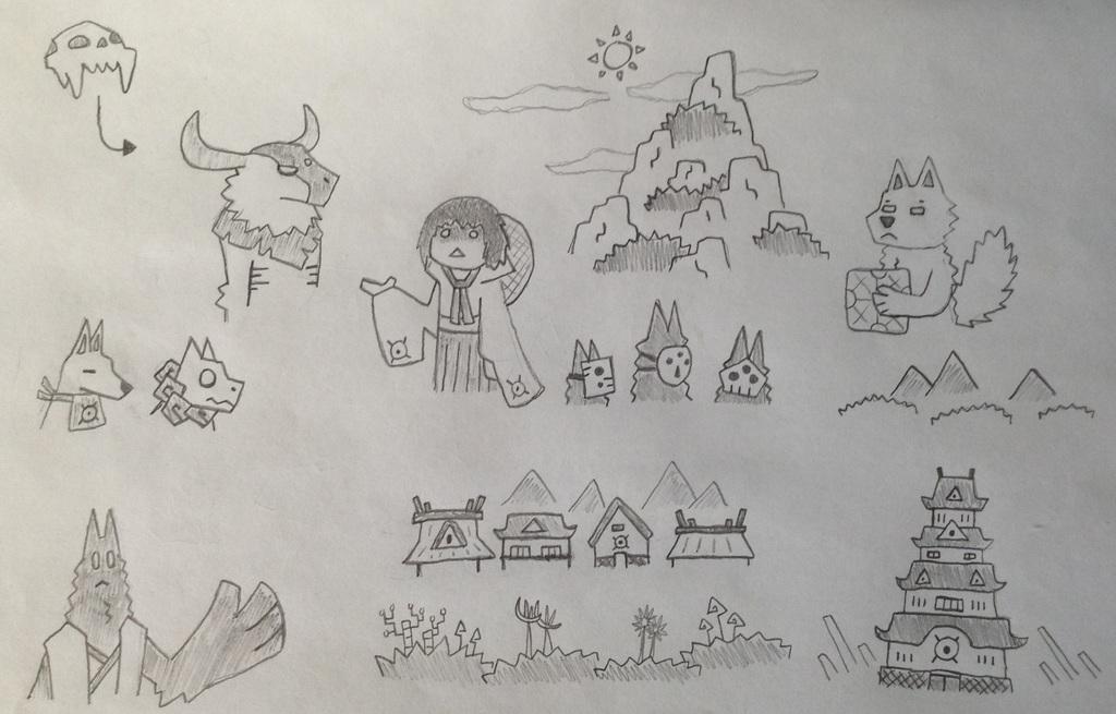Simple Drawings (10)