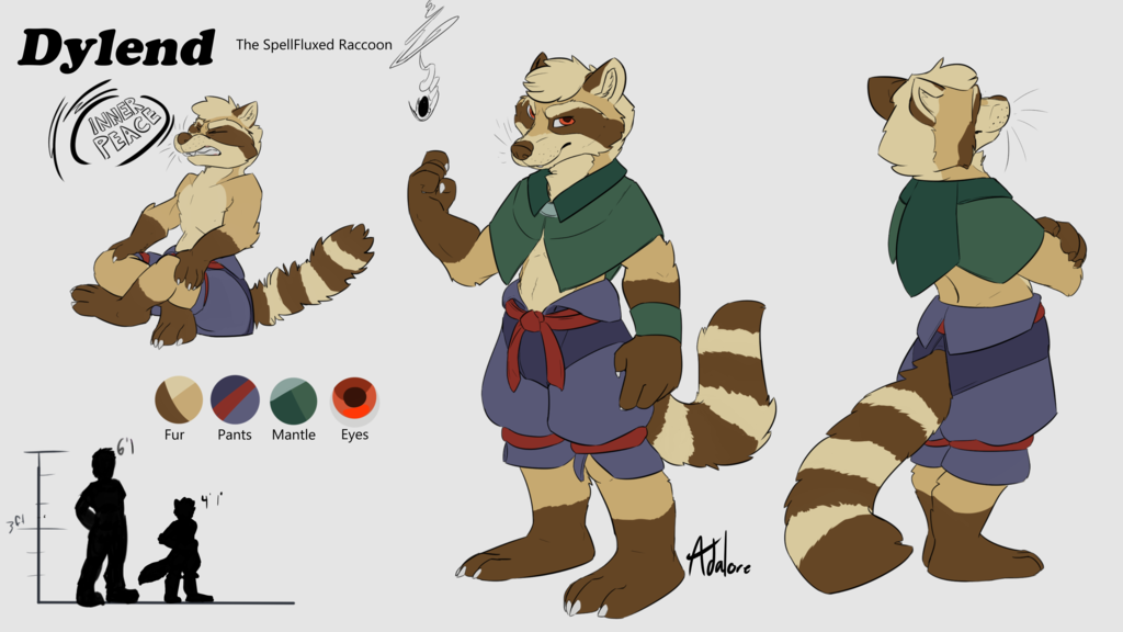 Most recent image: Dylend - Character Reference