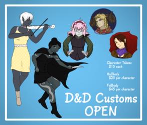 Custom D&D Characters!