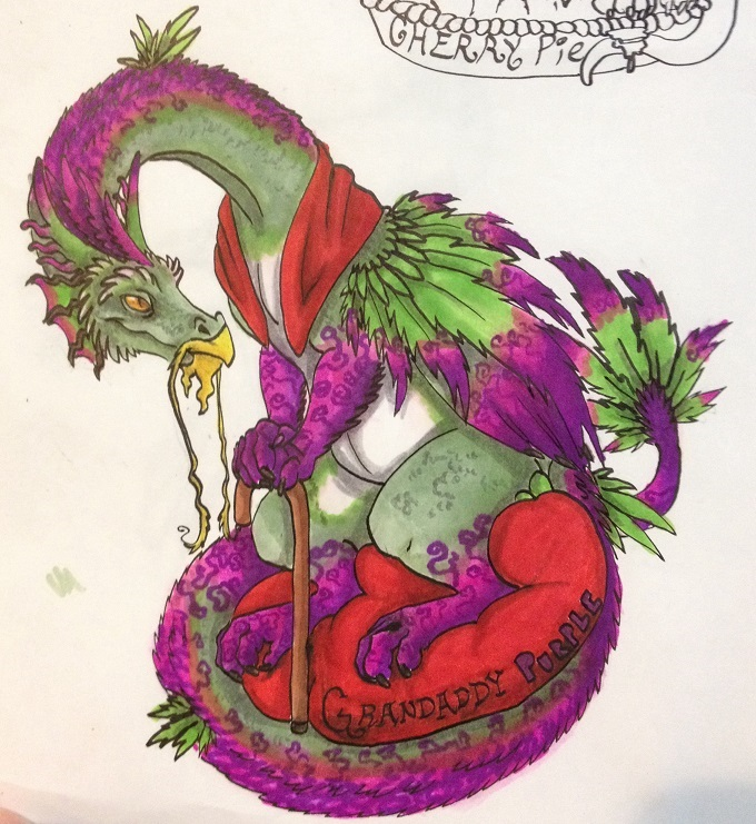 Granddaddy purple pot dragon