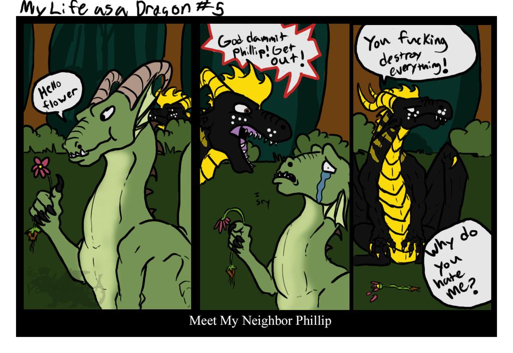 My Life as a Dragon#5: My Neighbor Phillip
