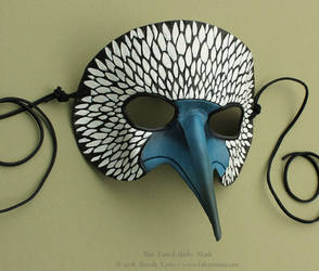 Blue Footed Booby - Leather Mask